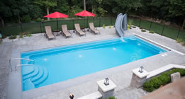 Rectangle Leading Edge Pools Pentwater