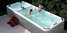 Menu Spas Portable Swim